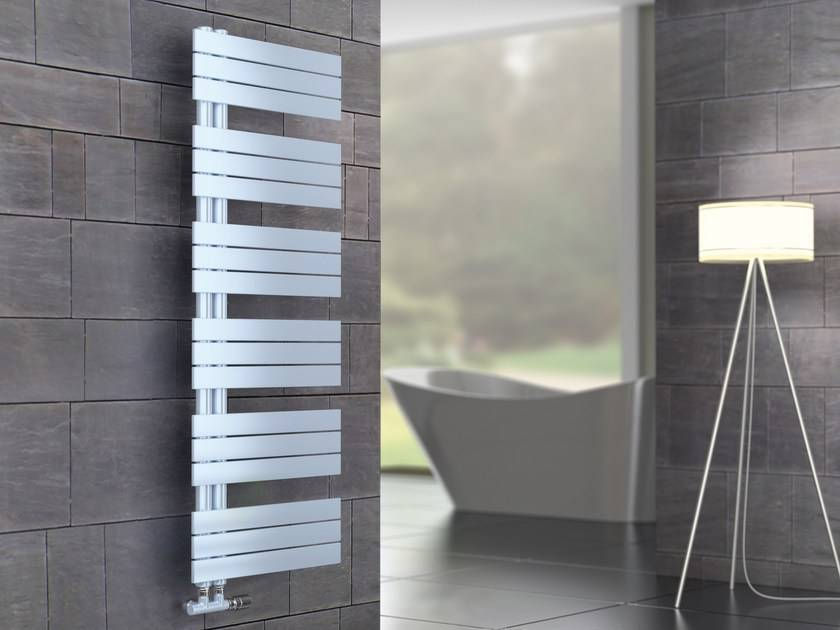 Kelly Flat Heated towel rail colored Cordivari