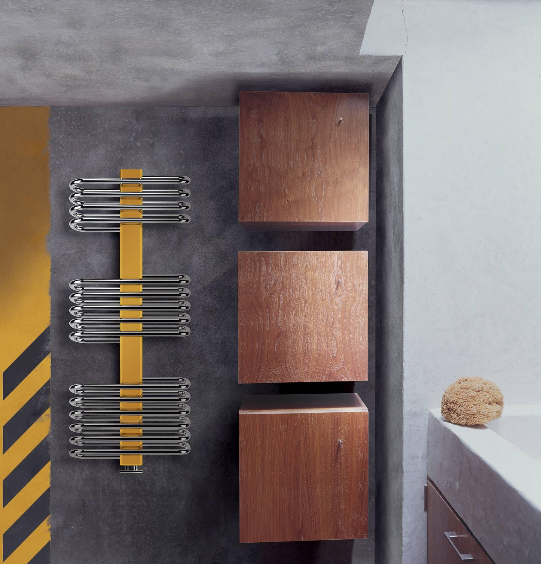 Sèche-serviettes Siena lazzarini cover coloré jaune