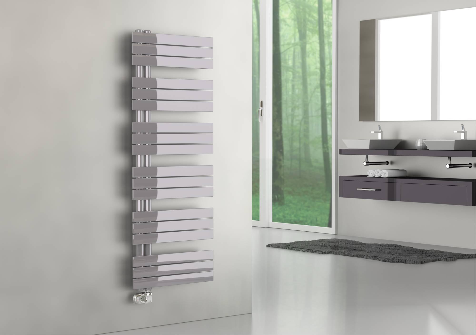 Chauffe-serviettes Cordivari Kelly Flat version électrique SX