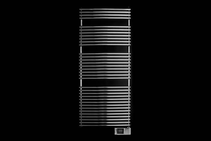 seche-serviettes chauffant HEGO23 électrique fond noir