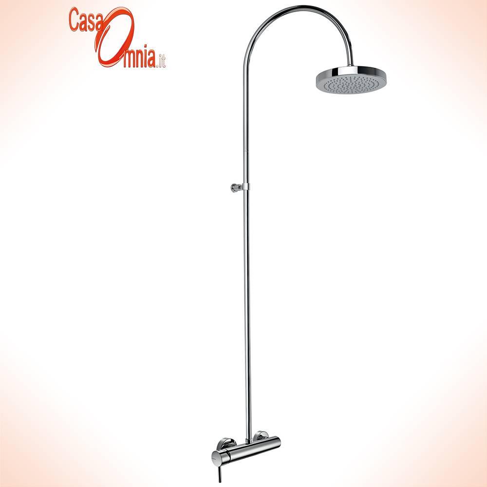 colonne-douche-avec-mélangeur-rond-de-cuir inclus