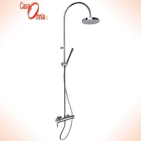 colonna-doccia-soffione-tondo-doccetta-cilindrica-miscelatore-e-deviatore-incluso