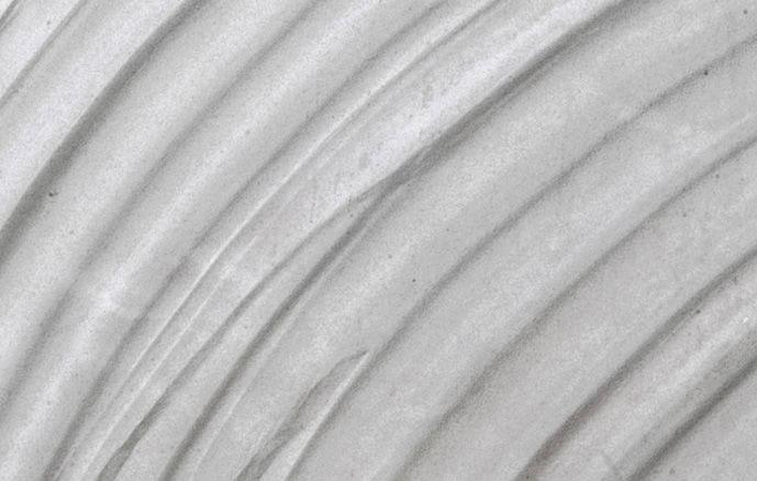 détail radiateur à la plaque en pierre stéatite blanc-aqua
