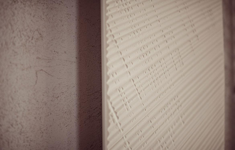 détail radiateur en pierre de savon net Graziano