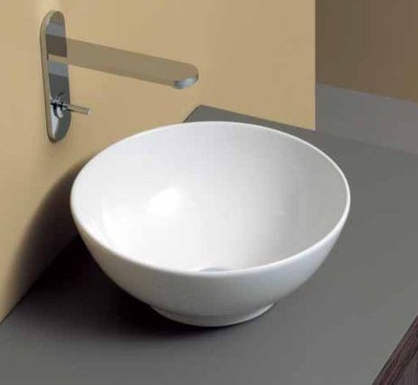 lavabo à poser céramique nic design flavia