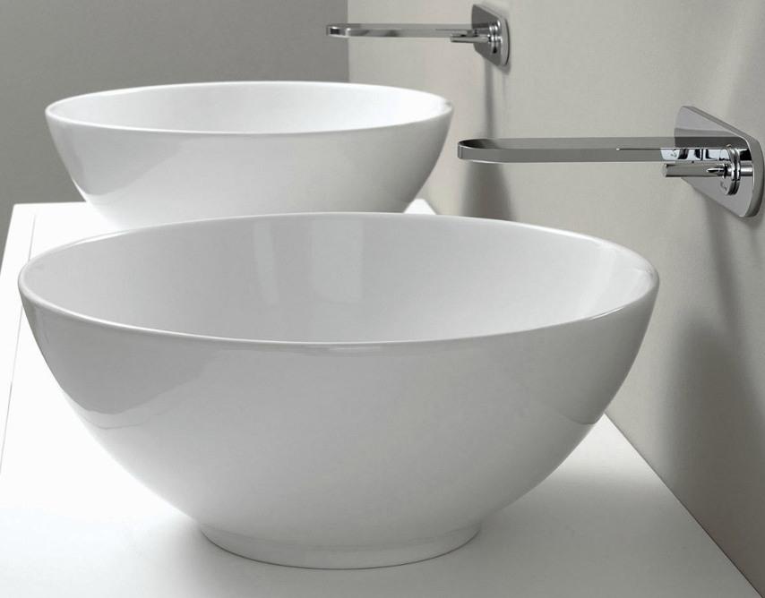 lavabo à poser nic design flavia blanc