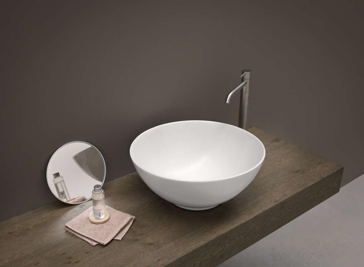 lavabo à poser nic design flavia céramique