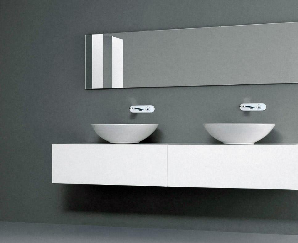lavabo à poser nic design giulia blanco coloré