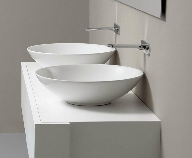 lavabo à poser nic design giulia blanc