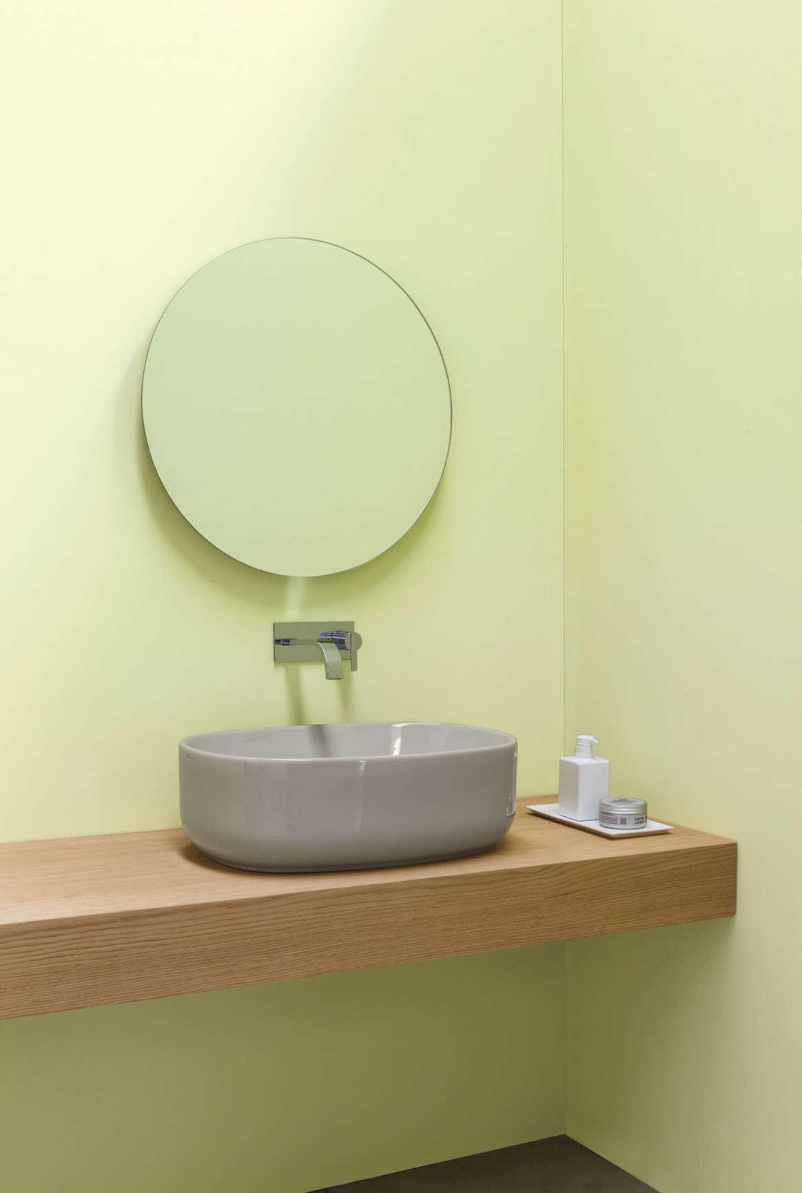 lavabo da appoggio nic design semplice ceramica