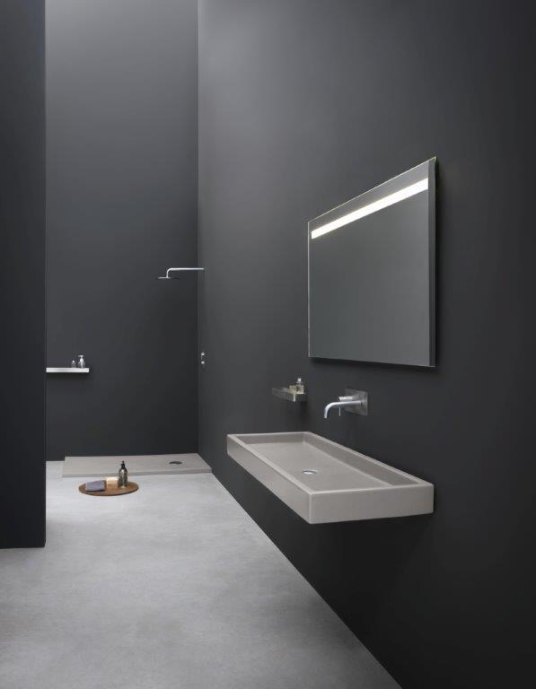 lavabo da appoggio o sospeso bianco colorato nic design canale