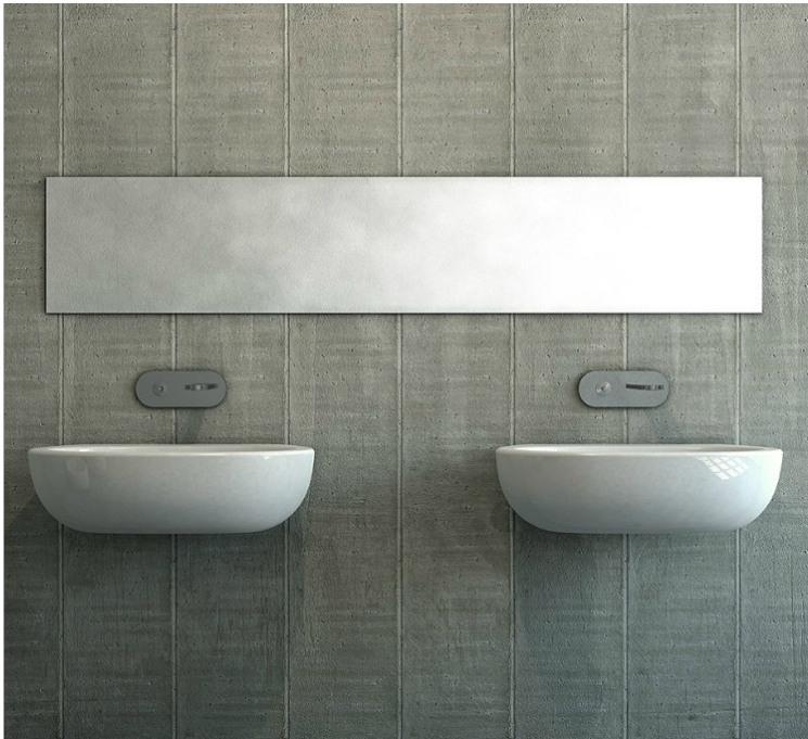 lavabo suspendu nic design blanc milk