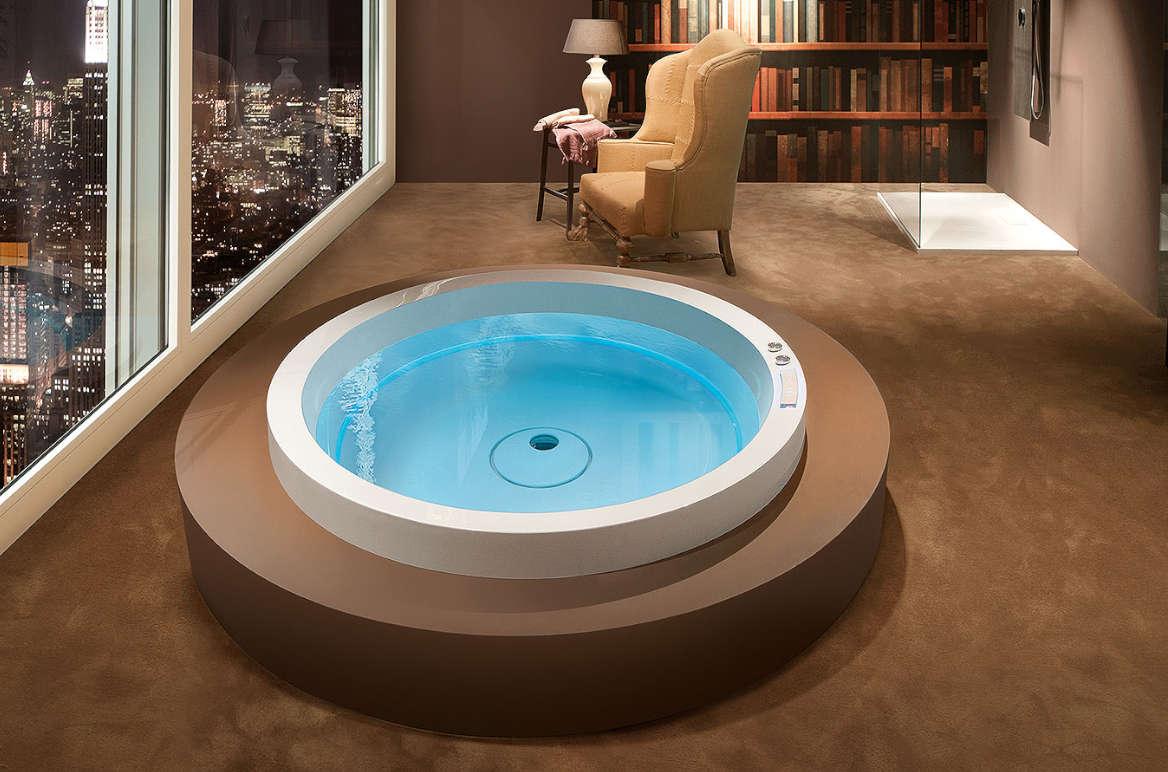 mini-piscine intégrée dream 160 ghost system treesse