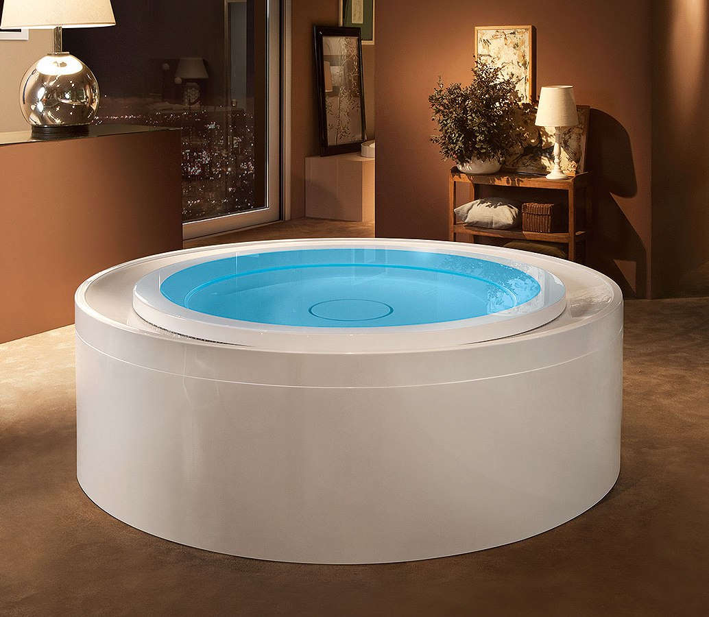 mini-piscine d'hydromassage système ghost fusion 200 treesse