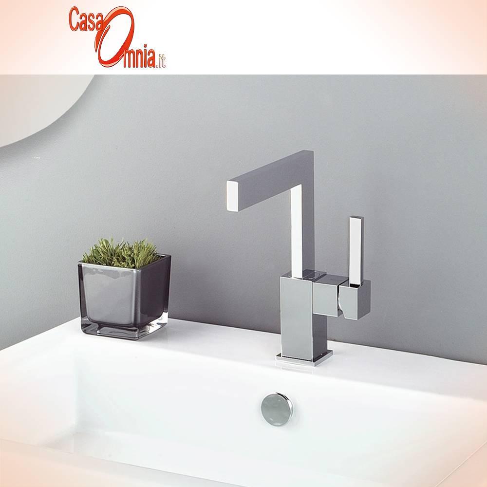 Waschtisch-Mischbatterie-mit-Beckenbefestigung-und-Auslauf-drehbar-135-mm.-bellosta-zhen