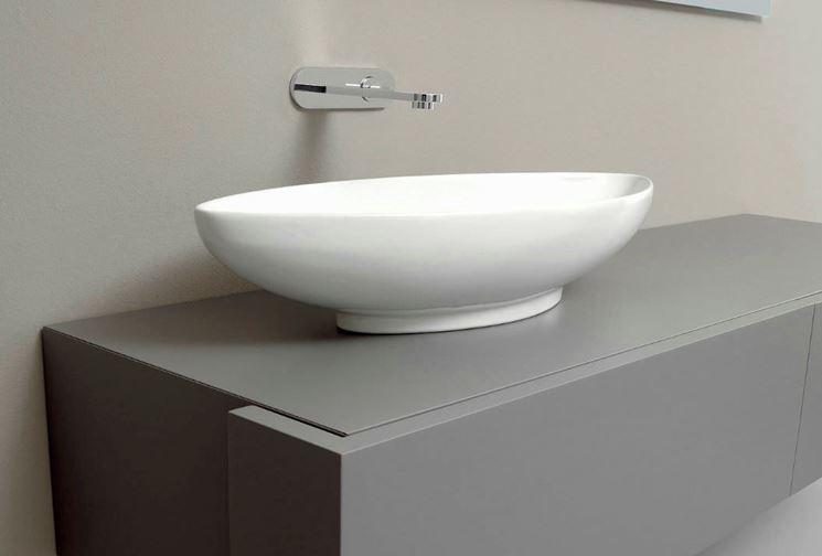 nic design lavabo à poser serie nina ovale blanc