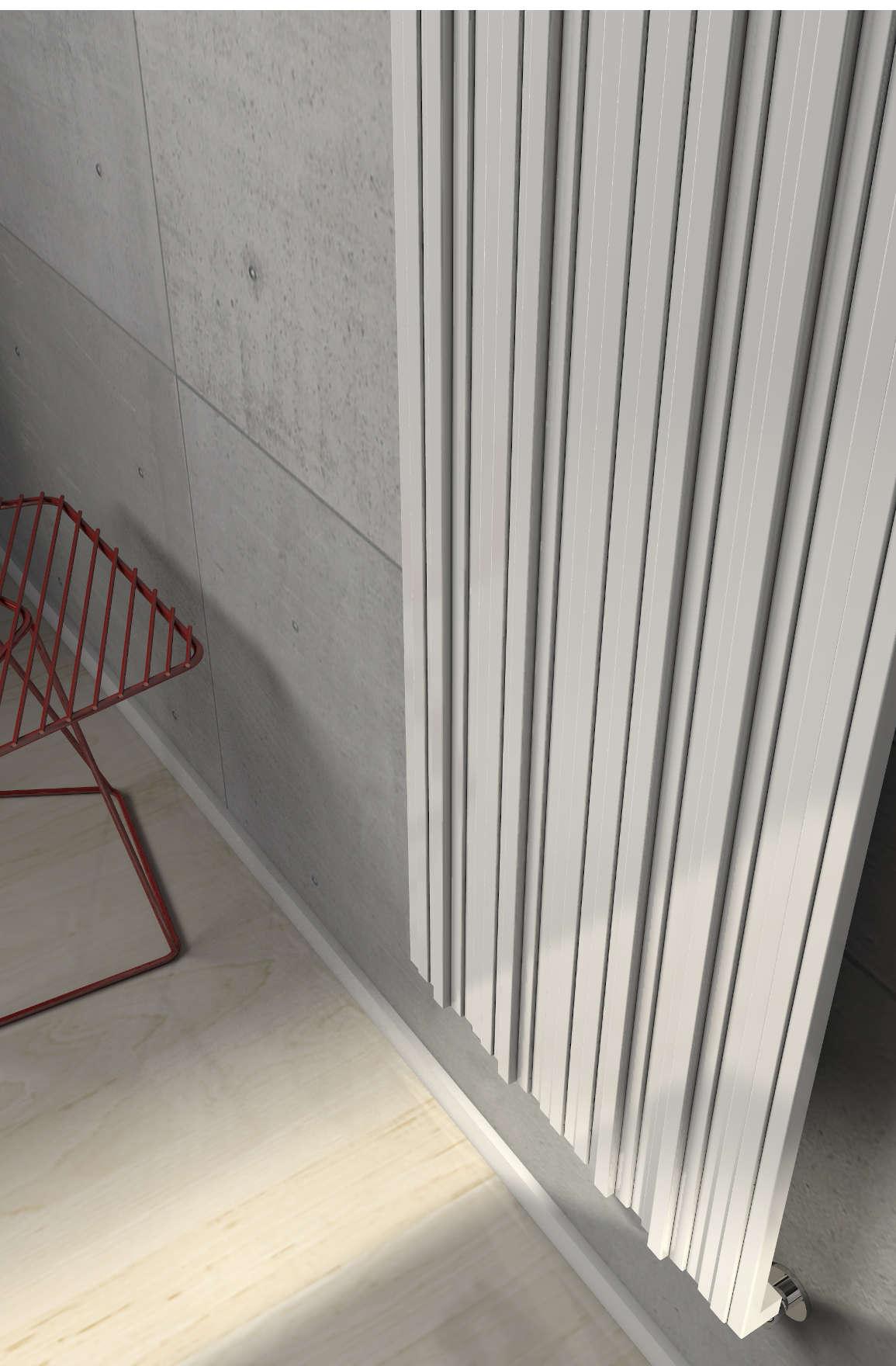 détail plaque radiatuer blanc coloré righi brem 2019