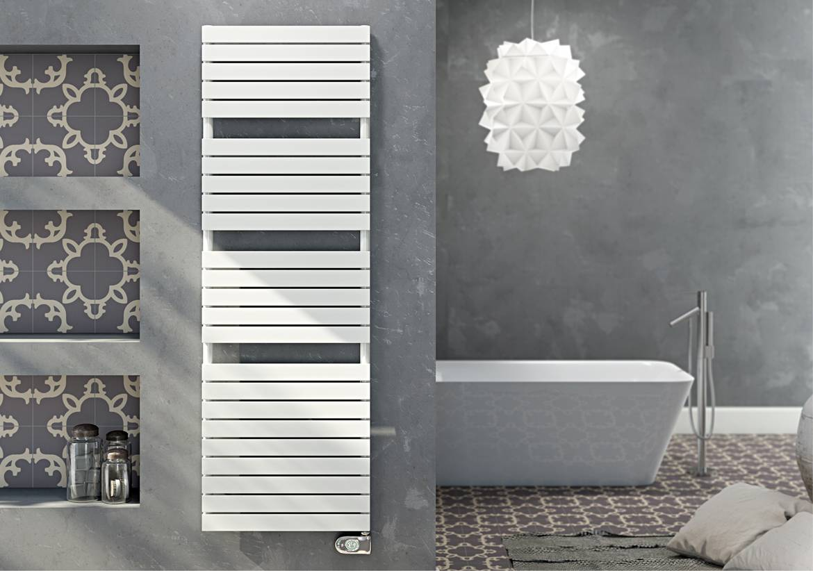 Towel Warmers-electric-dory-with-thermostat-ECO