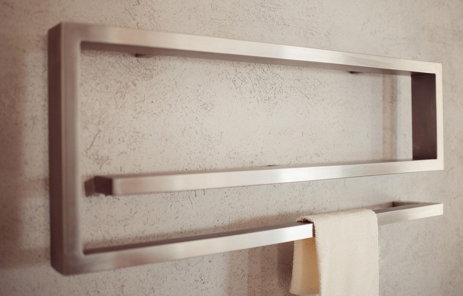 SÈCHE-serviette en acier inoxydable eos-graziano