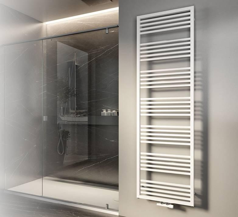 Towel Warmer-naike-Heated towel rail-radiator-bathroom-Cordivari
