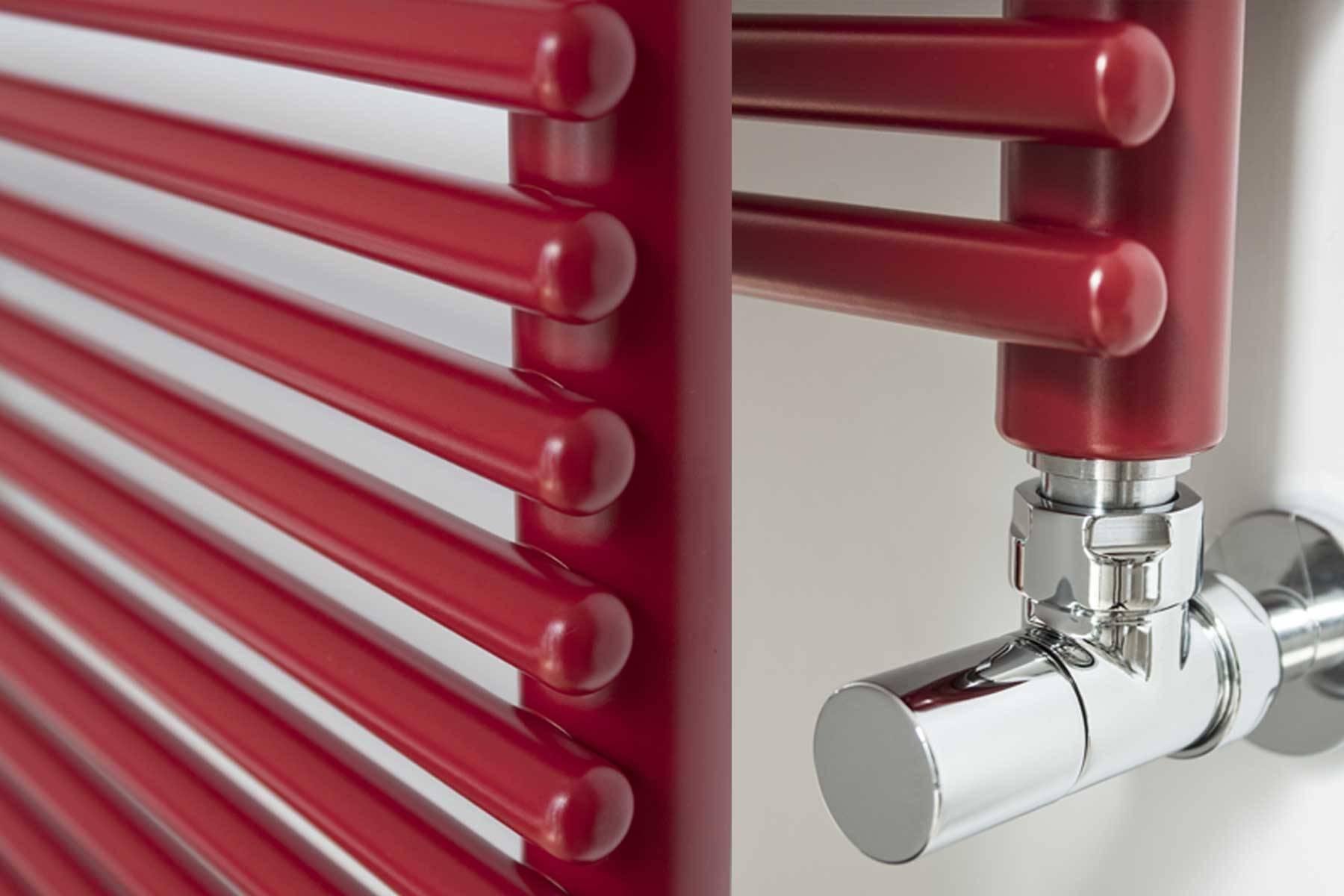 sèche-serviettes ragusa lazzarini rouge particulier