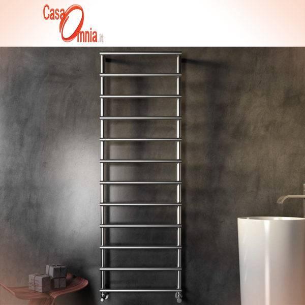 Handtuchwärmer-Heizkörper-Badezimmer-Laura-inox-Glossy-Cordivari