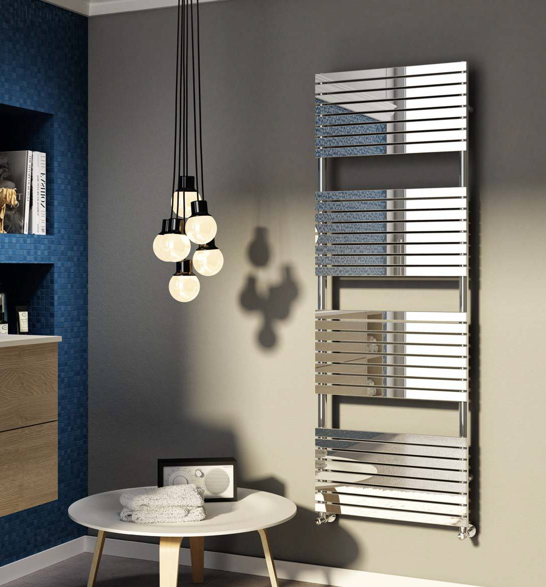 Heated towel rail-bathroom-stefania-inox-Glossy-Cordivari