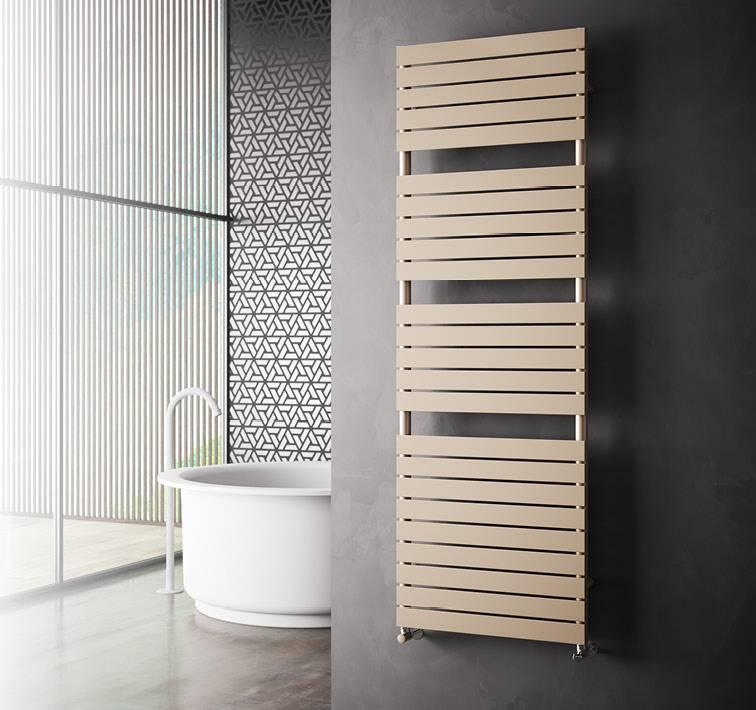 Sèche-serviette-chauffage-radiateurs-radiateur-salle de bain-blanc-ou-coloré-Cordivari-Dory