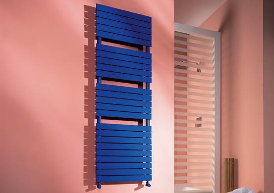 Serviette Sèche-serviette de bain radiateur blanc ou coloré Cordivari modèle Dory