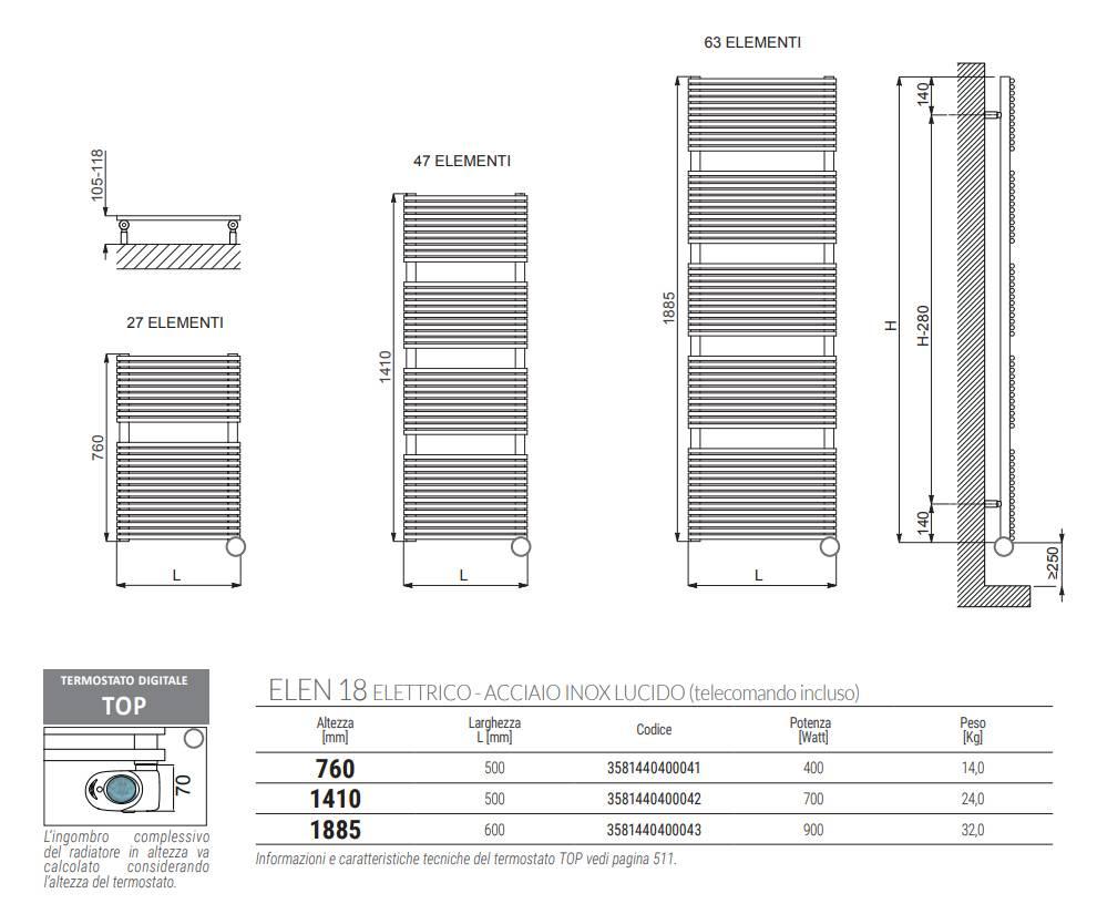 Feuille-technique-Cordivari-18-Sèche-serviette-électrique