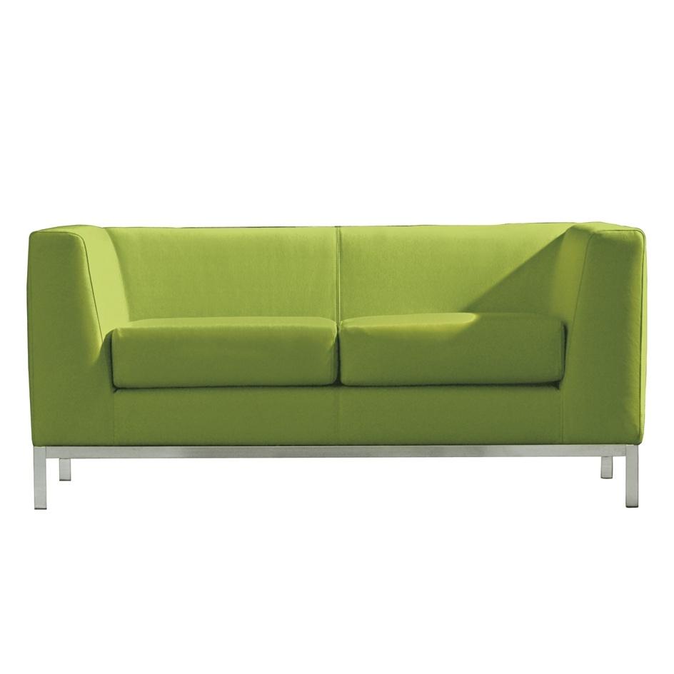 sedute poltrone sala d attesa luxy serie cube due posti verde