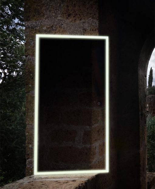 specchio bagno illuminato led antiappanamento vanità e casa starlight