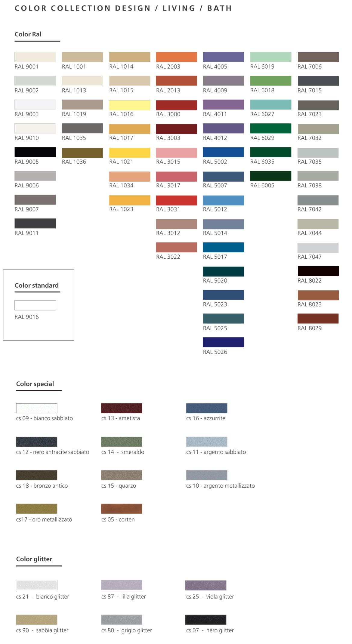 tabella-colori-Graziano-living-bath-design-2019