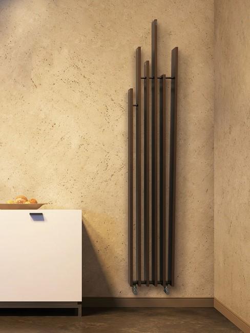 radiateur design lame brem coloré