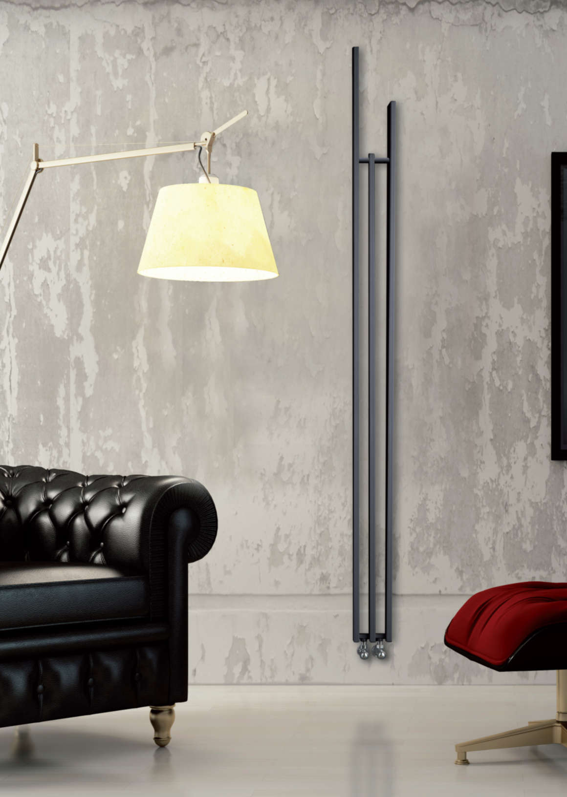radiateur design lame brem