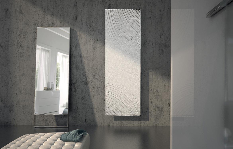 radiateur en pierre blanc-aqua-Graziano