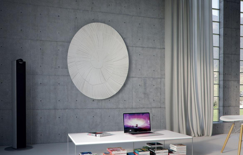 radiateur en pierre stéatite-nature Graziano