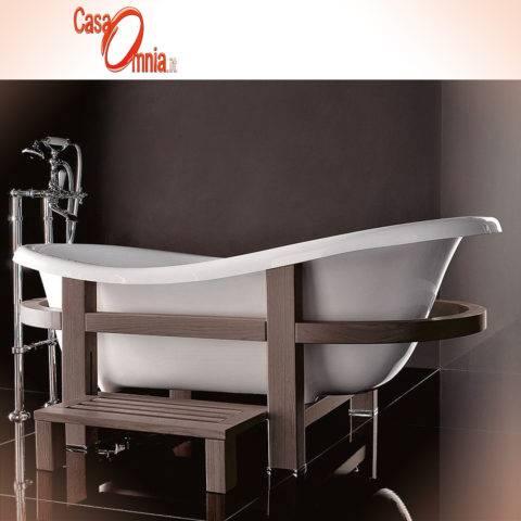 Vasca da bagno treesse quadra 180 181 199 casaomnia for Vasca da bagno classica