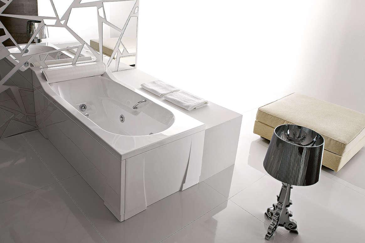 baignoire avec ou sans hydromassage alba treesse