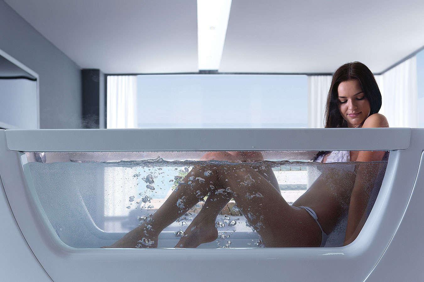 thermal bathtub freestanding treesse vision