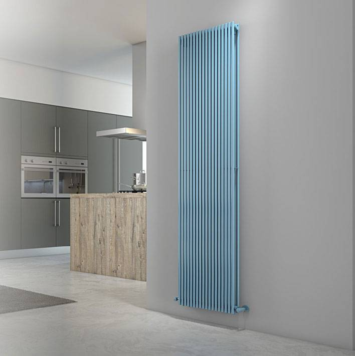Living-Radiator-Single column-Alice-tandem-Certicale-Cordivari