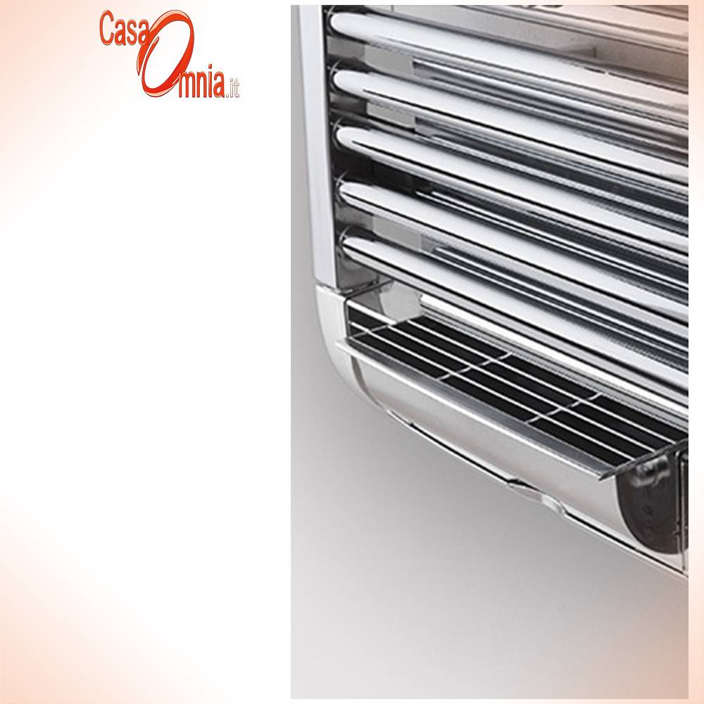 Deltacalor-Towel warmer-white-chrome-dryer-plus-electric