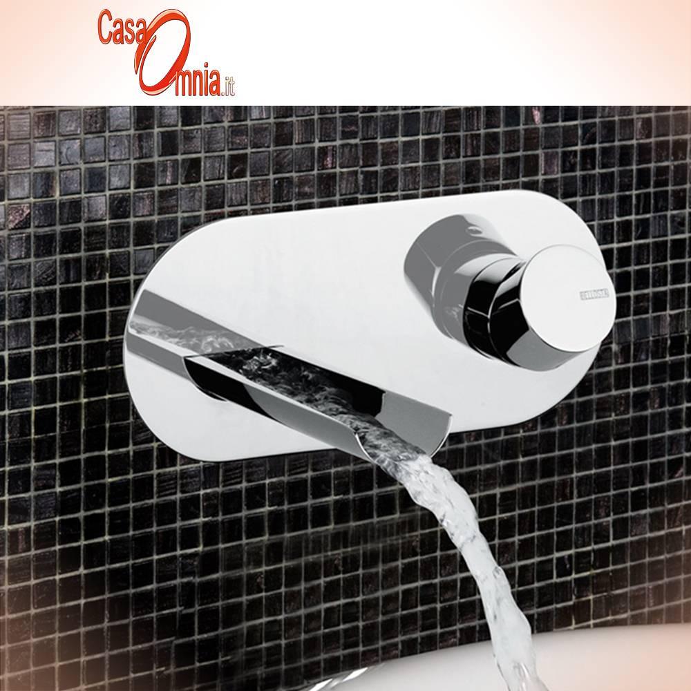 Miscelatore A Muro Per Lavabo miscelatore lavabo a muro su piastra - bellosta mose'