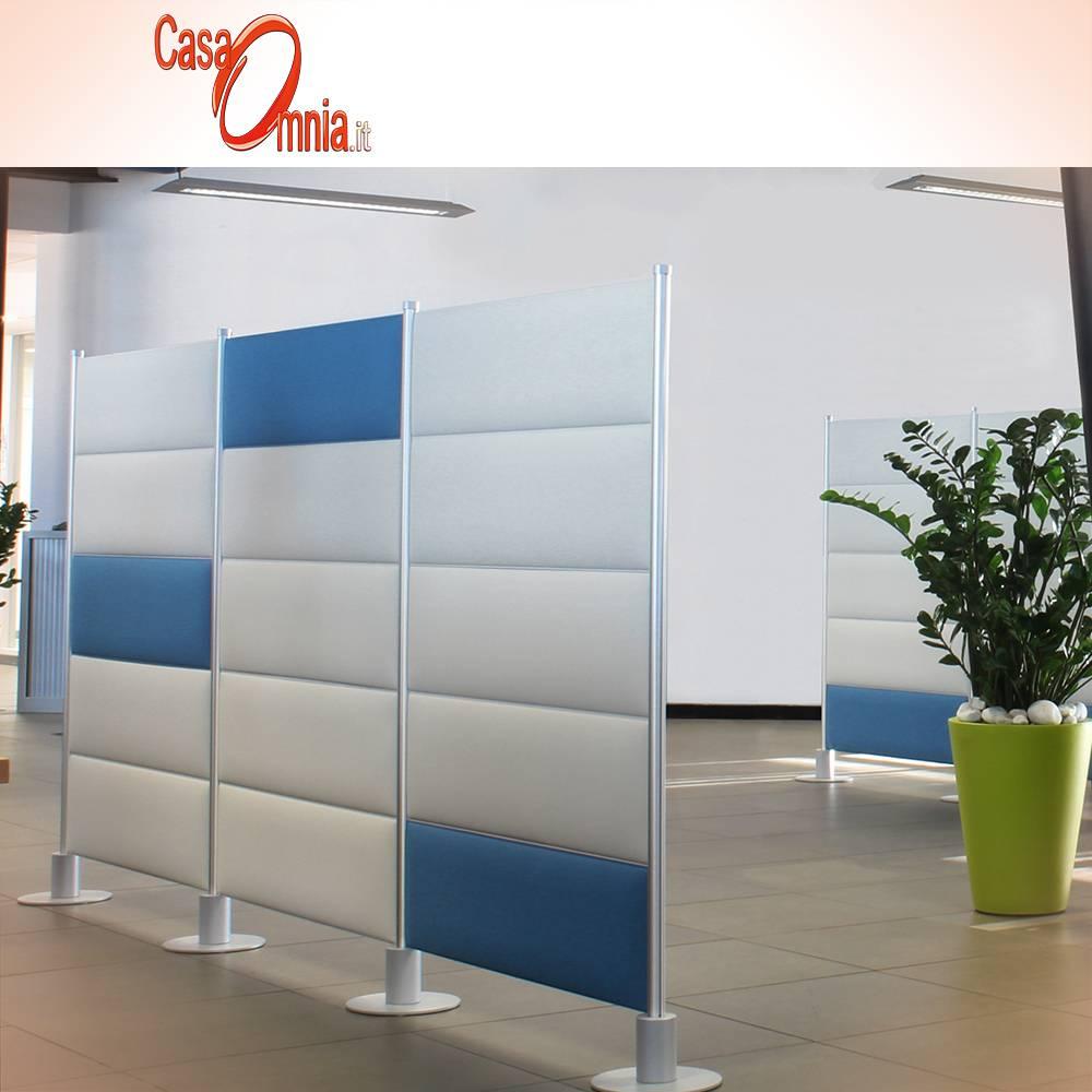 pannello_freestanding_ecostrong_fonoassorbente_blu_bianco_slalom