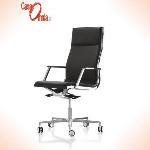 sedute-direzionali-luxy-serie-nulite-ergonomica-girevole-ufficio-schienale-alto-multiblock-braccioli-imbottita-nero