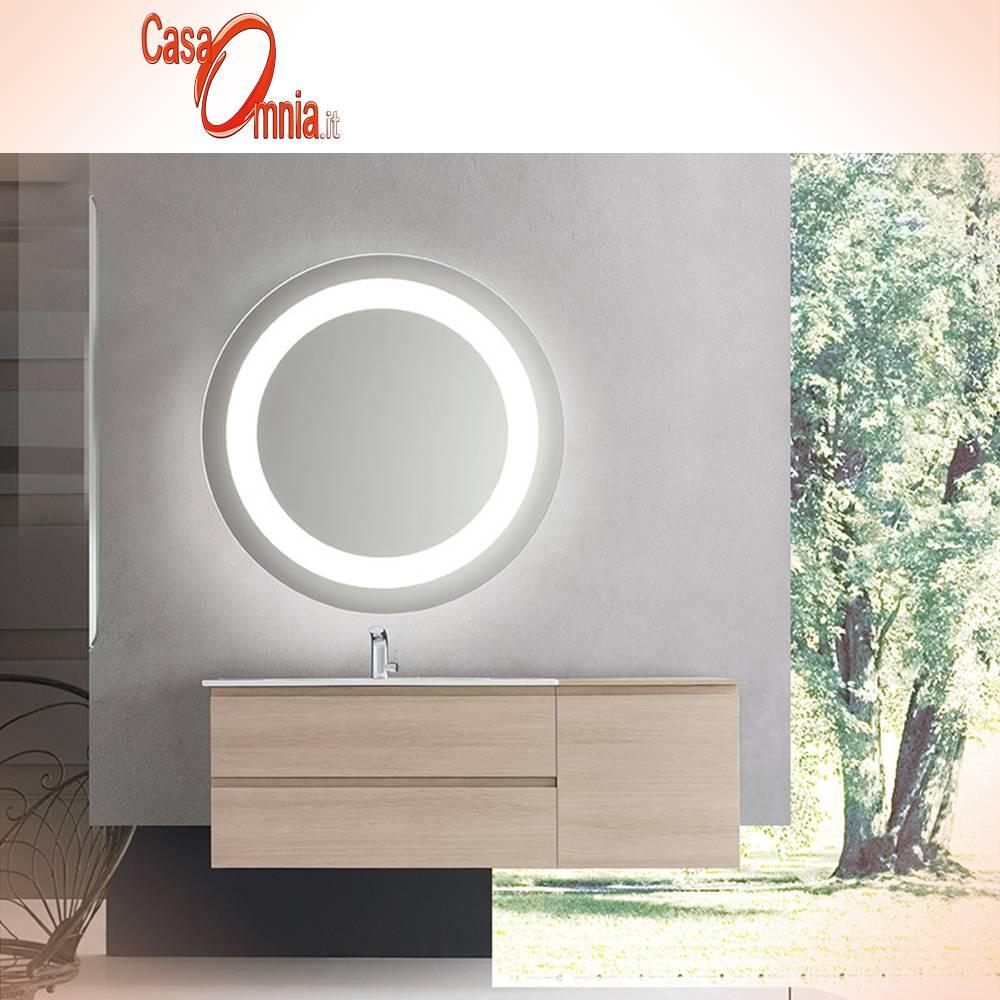 BATHROOM MIRROR BACK-LIT LED - ANTI-FOG - V&C ORION - CasaOmnia