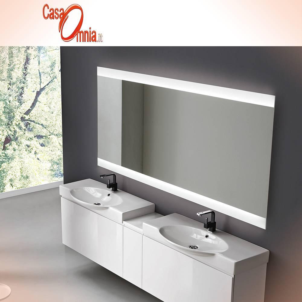 Specchio bagno led antiappanno bluetooth v c vela casaomnia - Specchio bagno 70x90 ...