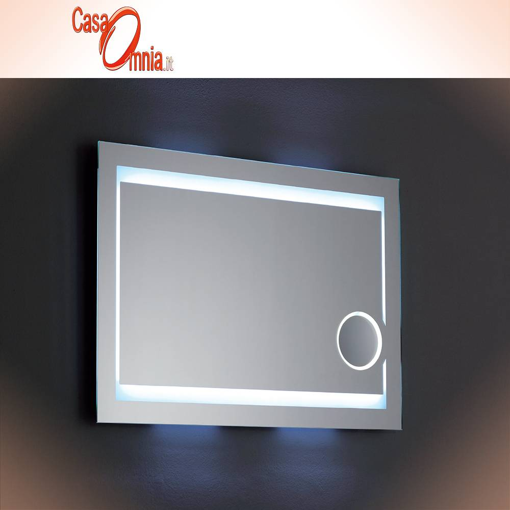 SPECCHIO BAGNO MAKE UP - LED - BLUETOOTH - V&C MIRA - CasaOmnia