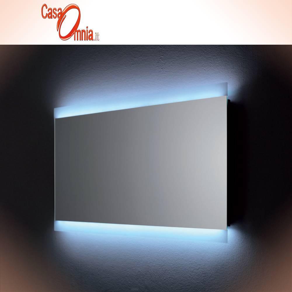 Specchio Bagno Con Led Prezzi.Specchio Bagno Led Antiappanno Bluetooth V C Vela Casaomnia