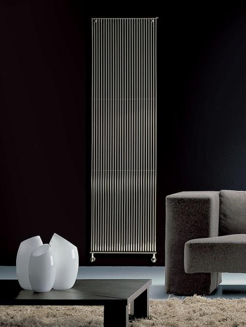 radiateur form vertical brem coloré